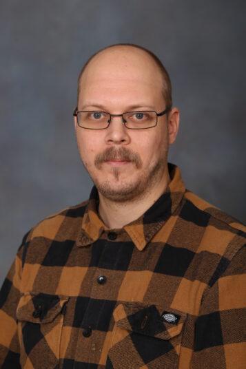Porträttfoto av André Blomberg