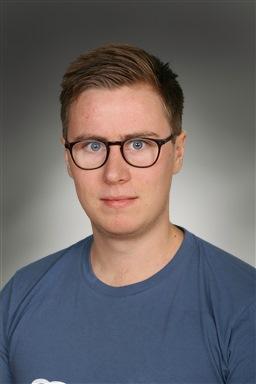 Porträttfoto av Hannes Vestberg