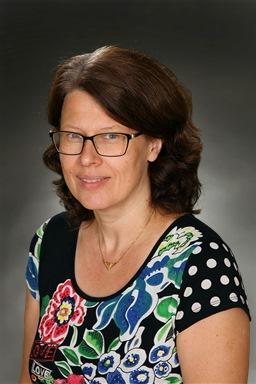 Porträttfoto av Ingrid Hedman
