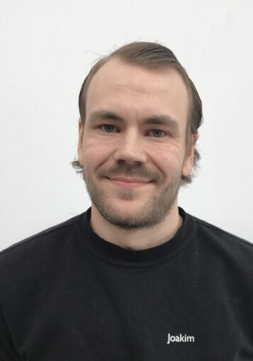 Porträttfoto av Joakim Samuelsson