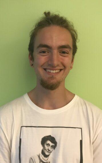 Porträttfoto av Johannes Lindemark