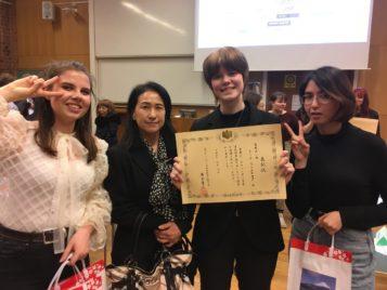 Tre fina TG-ambassadörer från HU – och en vinnare!