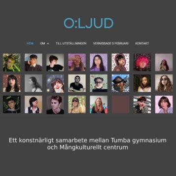Se bildesteternas digitala utställning O:LJUD