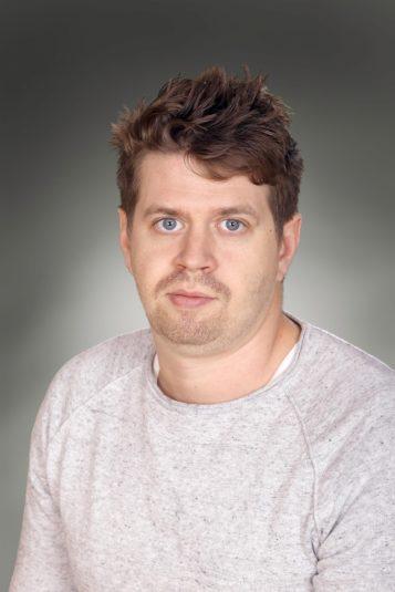 Porträttfoto av Sebastian Gäll