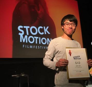 Tidigare TG-elev vann filmpris